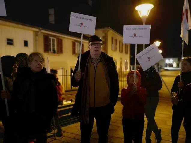 manifestation LDF Parvis droits de l'homme (3)