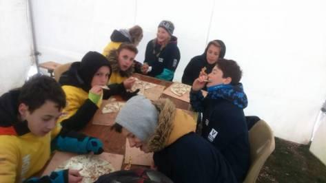 bénévoles la haie griselle course d'orientation 2019 (1)
