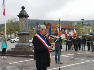 cérémonie 8 Mai Xonrupt Longemer (1)