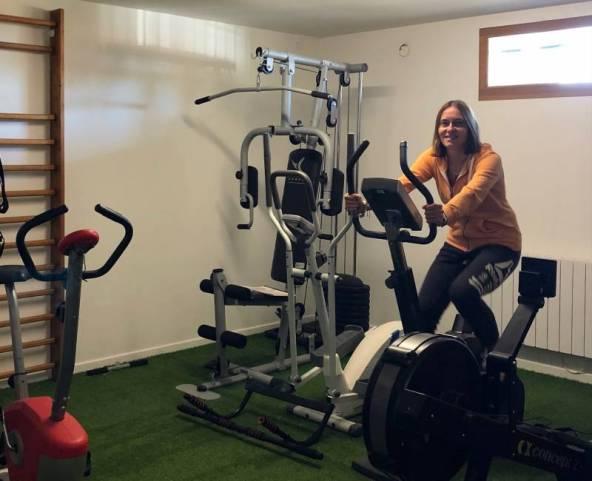 Valérie met à disposition une salle pour la pratique indoor