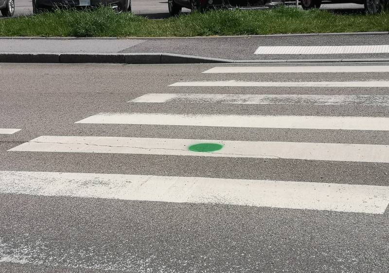 que signifient les ronds verts qui sont