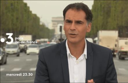 Capture écran France TV
