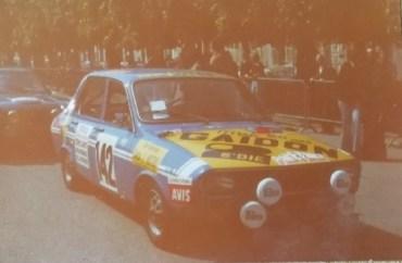 Maurice Yung sur une R12 Gordini