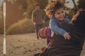 Fotografías de familia en Playa del Saler - Valencia (5)