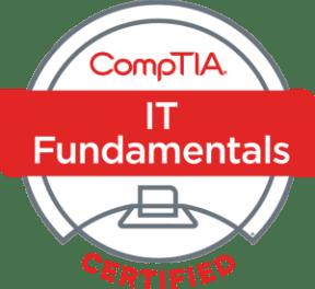 CompTIA IT Fundamentals badge