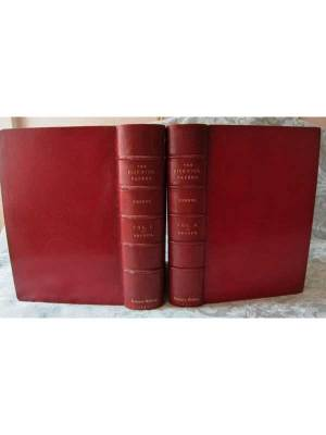 The Posthumous Papers of the Pickwick Club 2 Vols. Spine & Boards