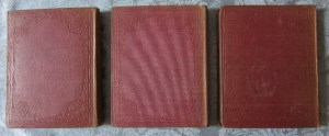A Child's History of England 3 Vols. Back Covers