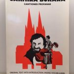 Carmina Burana: Cantiones Profanae (English, Latin and Latin Edition)