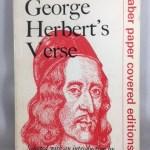 A Choice of George Herbert's Verse