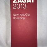 2013 New York City Shopping (Zagat Survey: New York City Food Lover's & Shopping Guide)