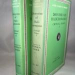 Dionysius of Halicarnassus: Critical Essays 2 Vol. Set. (Loeb Classical Library, Nos. 465, 466)