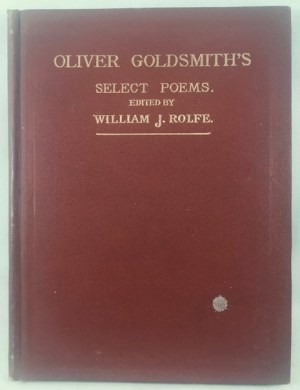 Oliver Goldsmith's Select Poems