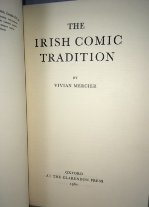 The Irish Comic Tradition