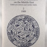 Edited Works and Collections on the Middle East: Tables of Contents and Authors Index 2,3,4, 1989, 1990, 1991