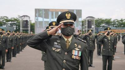 Putera Belu Masuk Kategori Perwira Lulusan Terbaik Secapa TNI AD Tahun 2021