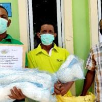 PT Timah Tbk Berikan Bantuan Jaring Kepada Nelayan