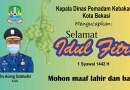 Kepala Dinas Pemadam Kebakaran Kota Bekasi Mengucapkan Selamat Idul Fitri