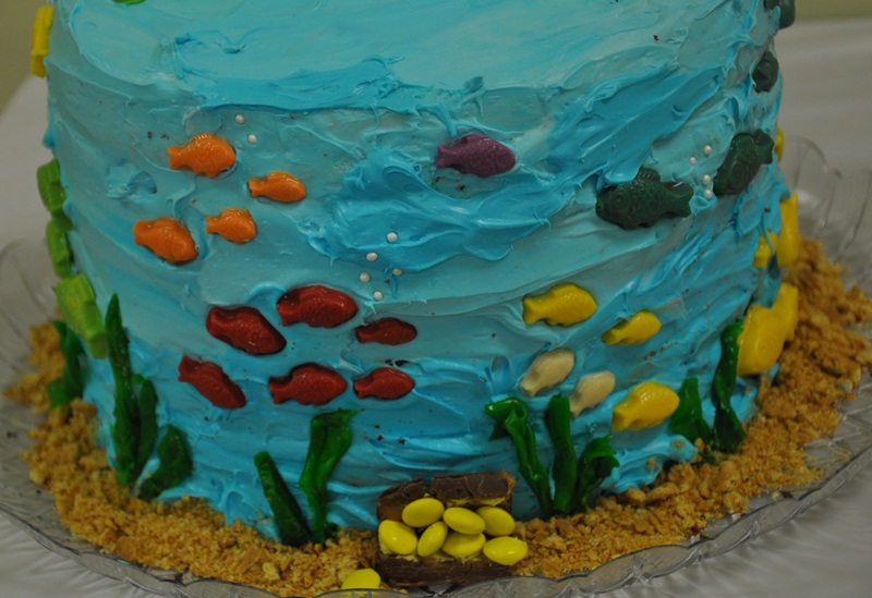 "Cakes From Birthdays Past- Part 1, ""Under The Sea"