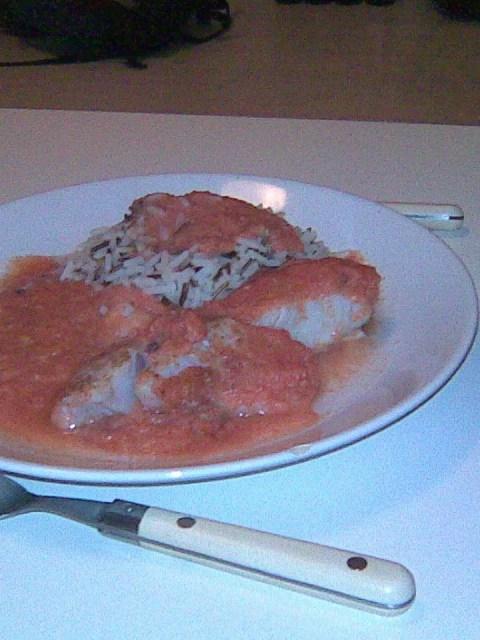 zomerse tomatenvis
