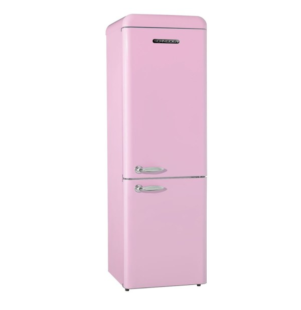 Retro Koelkast SL300 Roze
