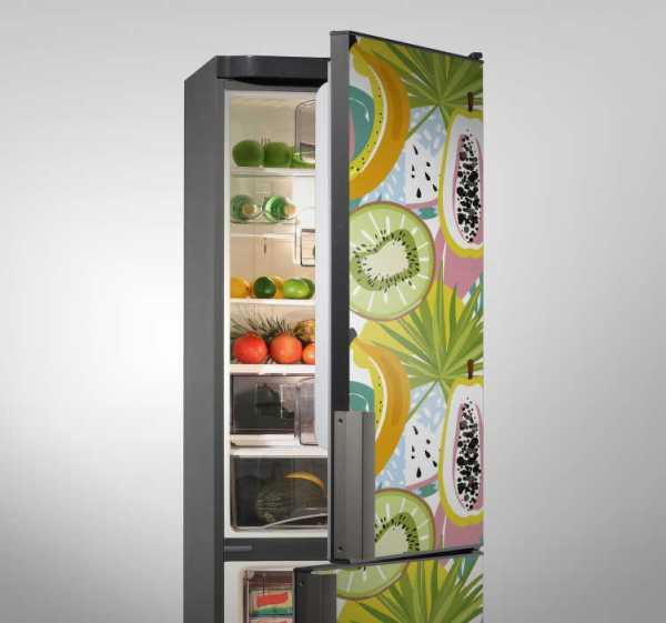 Fruit koelkast koelkast wrap