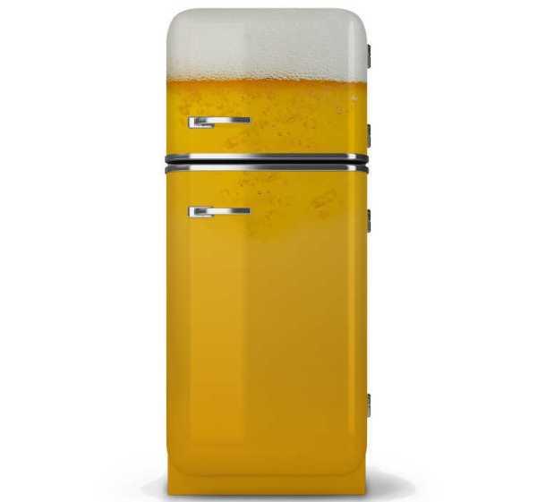 Koelkast sticker bier