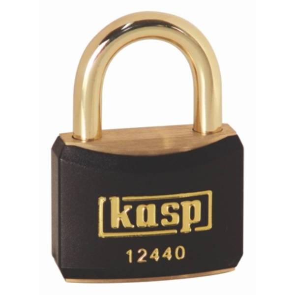 Kasp K12440BLAA1 Hangslot 40 mm Goud-geel Sleutelslot