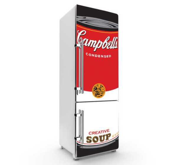 Sticker koelkast Campbells