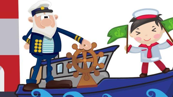 Hajósmese