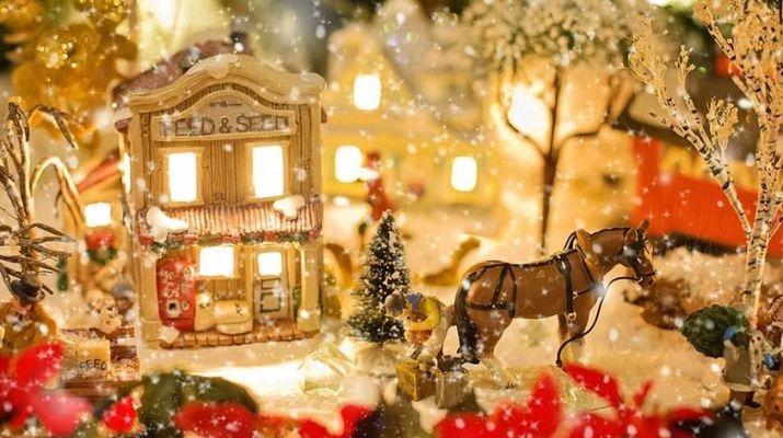 karácsonyi falu
