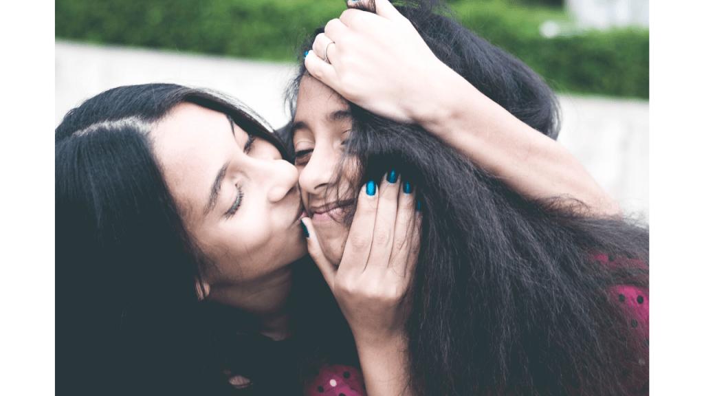 Bonne relation mère fille