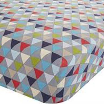 Catherine Lansfield Geo Double Fitted Sheet