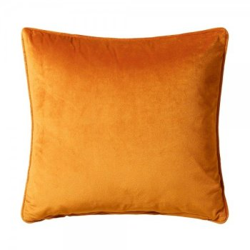 Scatter Box Bellini Velour 45x45cm Cushion, Ochre``1