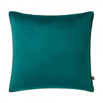 Scatter Box Bellini Velour 45x45cm Cushion, Teal