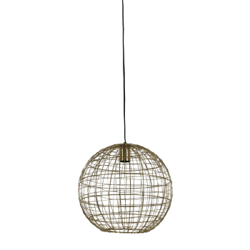 Miranda Gold Hanging Lamp