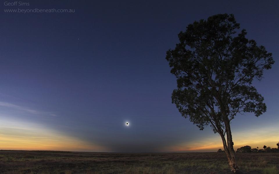 Keistimewaan Gerhana Matahari Total 2016