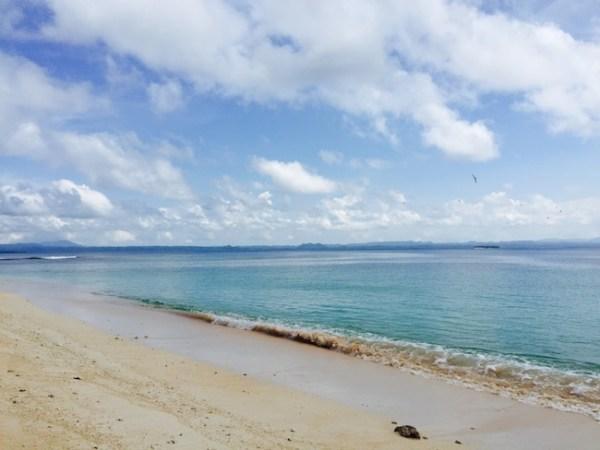 Pulau Plun atau Pulau Tengah, salah satu pulau di Halmahera Timur yang jadi incaran para pemburu gerhana.