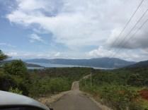 Pemandangan sepanjang jalan Buli-Maba