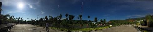 Suasana pagi dari Kartika Buli Resort. Kredit: Avivah Yamani