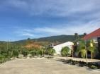 Suasana pagi dari Kartike Buli Resort. redit: Avivah Yamani
