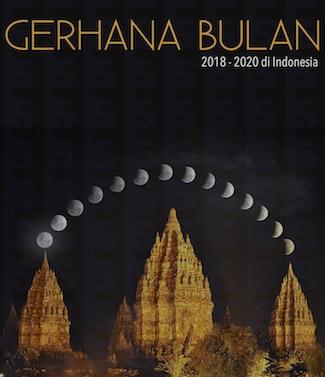 Buku Gerhana Bulan di Indonesia