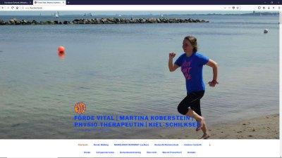 Förde Vital | Martina Koberstein | Physiotherapeutin | Kiel-Schilksee | Vital und gesund durch Prävention