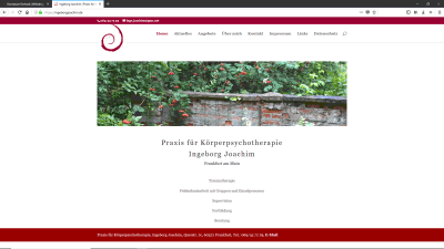 Praxis für Körperpsychotherapie Ingeborg Joachim Frankfurt am Main