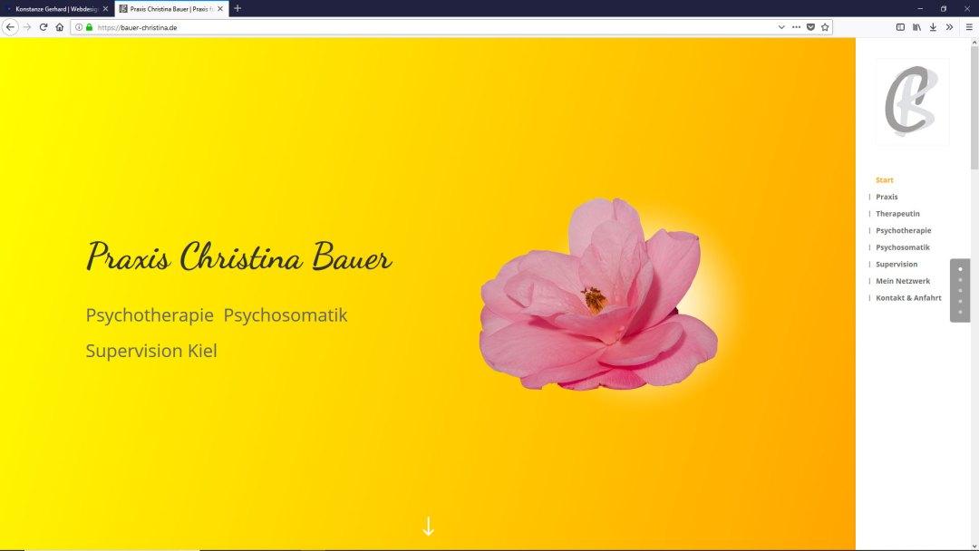Praxis Christina Bauer Kiel | Psychotherapie Psychosomatik Supervision