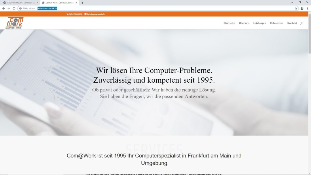 Com@Work - Ihr Computerspezialist in Frankfurt am Main