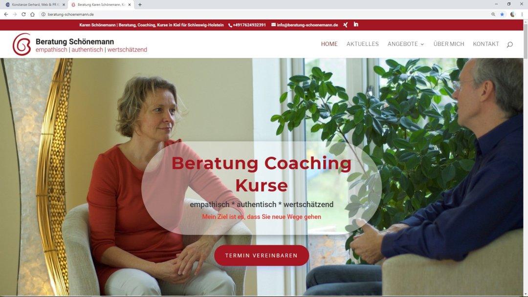 Beratung Karen Schönemann, Kiel