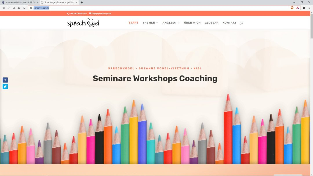 Suzanne Vogel-Vitzthum | Kiel - Seminare | Workshops | Coaching
