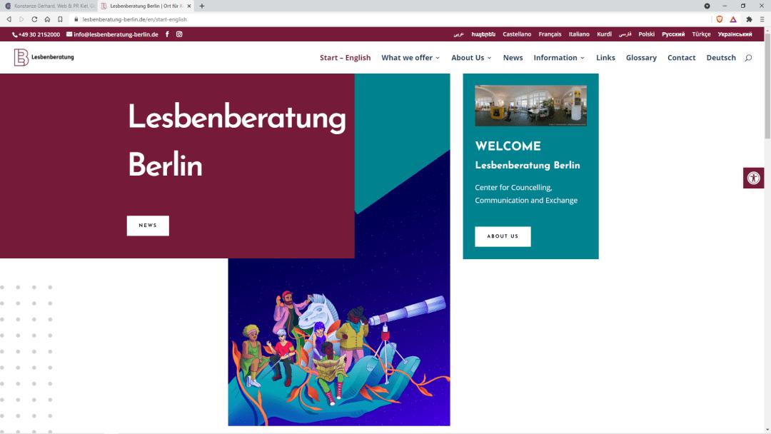 Lesbenberatung Berlin Ort für Kommunikation, Kultur, Bildung und Information e.V.