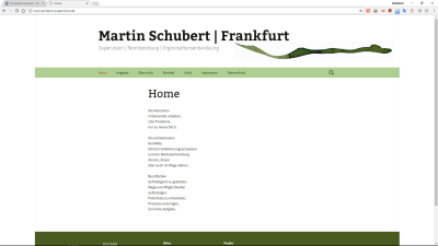 Martin Schubert Frankfurt – Supervision, Teamberatung Organisationsentwicklung