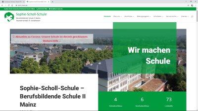 Sophie-Scholl-Schule, BBS II, Mainz